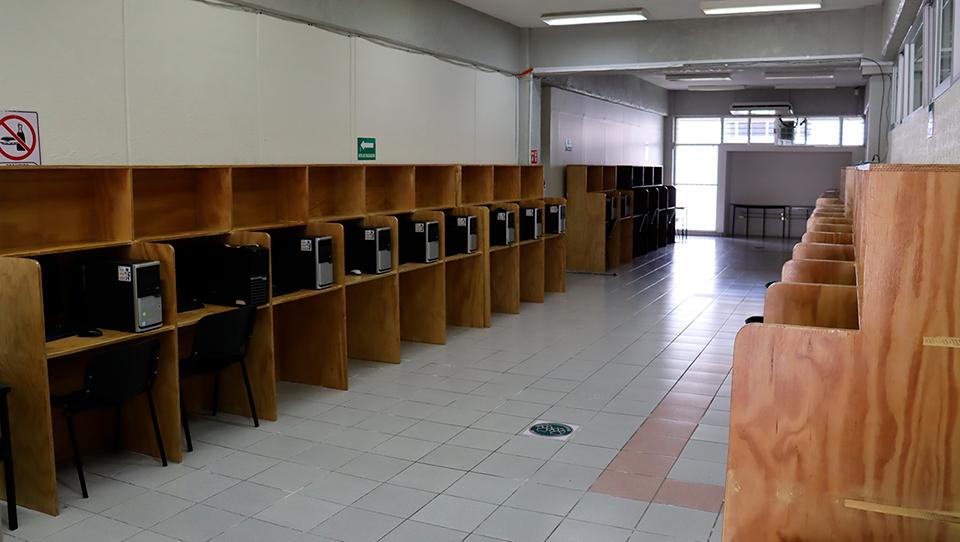 Sala General - Centro de Cómputo