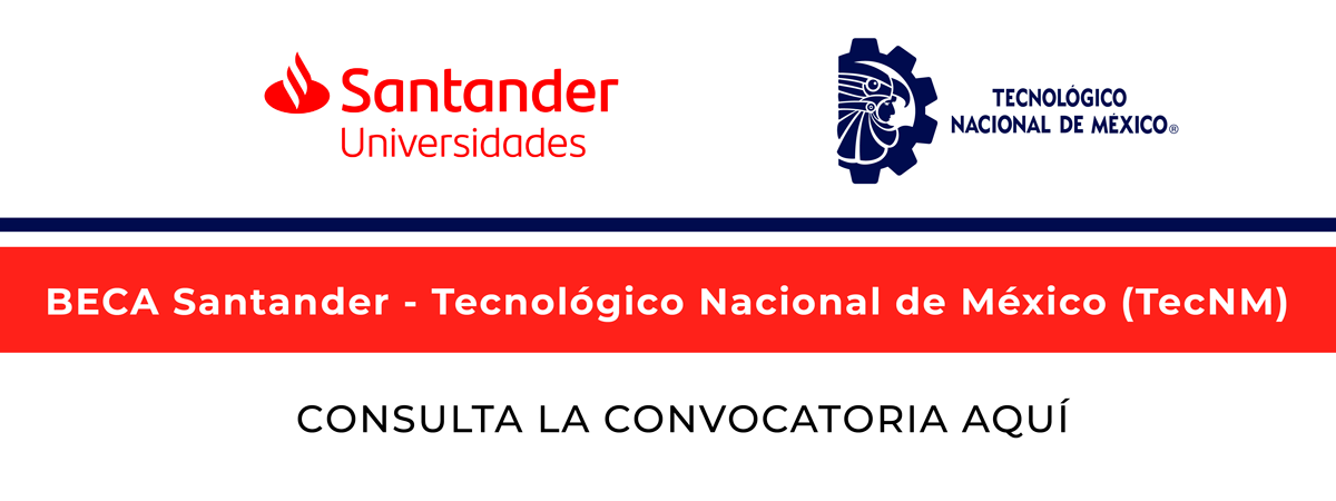Beca Santander TecNM